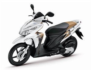 Honda-Click-125-cc Total Automatic Scooter For Rent In Bohol