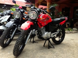 YAMAMA YBR 125CC FOR RENT IN BOHOL