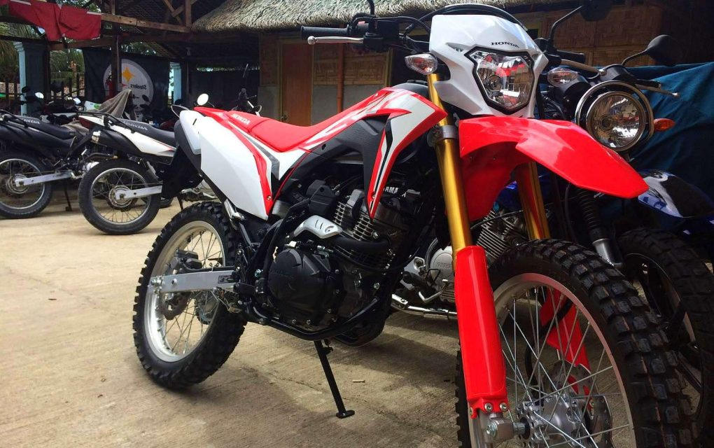 CRF 150ccFI Front And Rear Disk Brakes 5 Speed Trail Bike For Rent In Bohol And Cebu 1000php Per Day